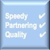 speedy, partnering, quality