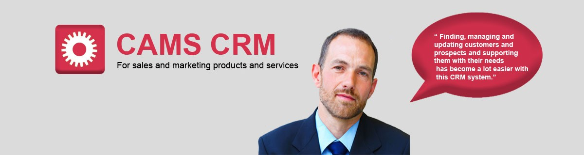 CAMS CRM Sales and Marketing products and services