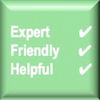 Expert, Friendly, Helpful